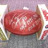 Jets Wayne Chrebet Signed Authentic Football