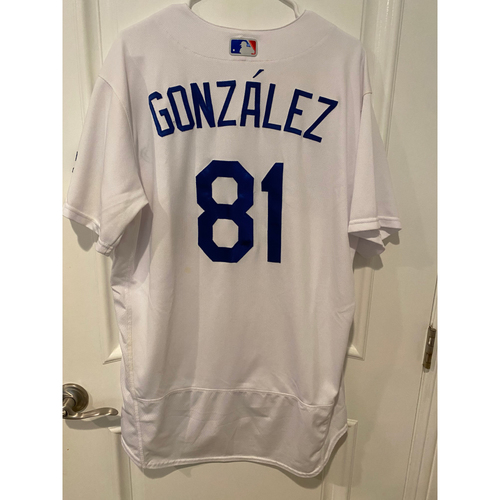 Photo of Victor Gonzalez 2020 Game-Used NLCS Jersey - Game 7