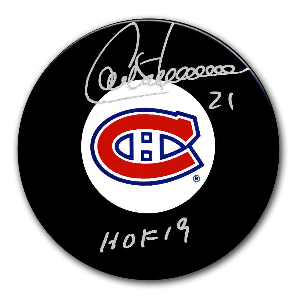 Guy Carbonneau Montreal Canadiens HOF Autographed Puck