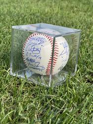 Photo of 2021 Hartford Yard Goats Team Signed Baseball