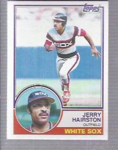 Photo of 1983 Topps #487 Jerry Hairston