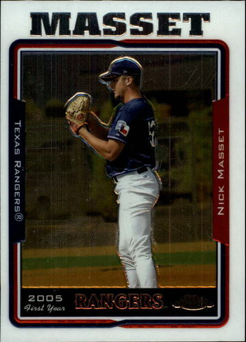 Photo of 2005 Topps Chrome Update #135 Nick Masset FY RC