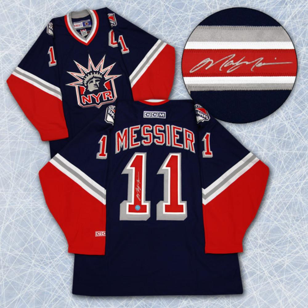 meet 7cbcd 61f92 Mark Messier New York Rangers Autographed Retro CCM Liberty ...