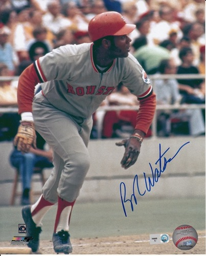 Photo of Bob Watson Autographed 8x10