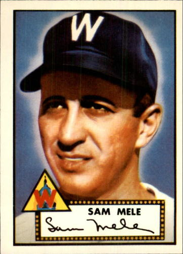Photo of 1983 Topps 1952 Reprint #94 Sam Mele