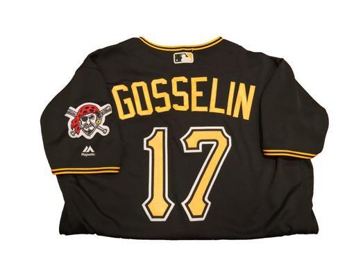 #17 Phil Gosselin Game-Used Black Alternate Jersey - Worn on 4/24/17