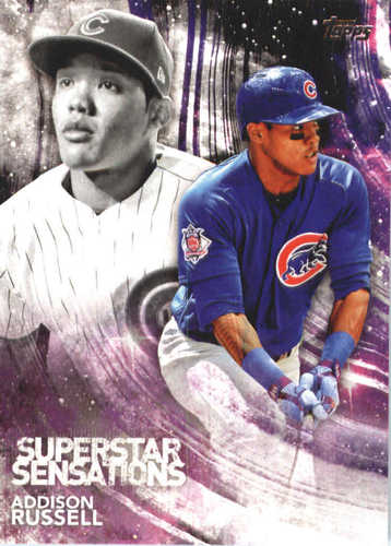 Photo of 2018 Topps Superstar Sensations #SSS4 Addison Russell