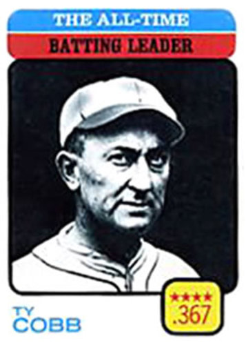 Photo of 1973 Topps #475 Ty Cobb/All-Time Batting Leader Hall of Fame Class of 1936