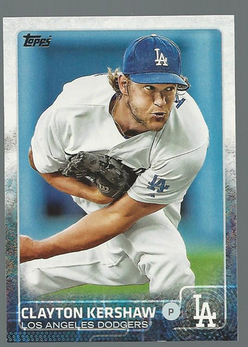 Photo of 2015 Topps #100A Clayton Kershaw