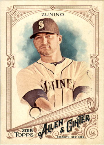 Photo of 2018 Topps Allen and Ginter #53 Mike Zunino