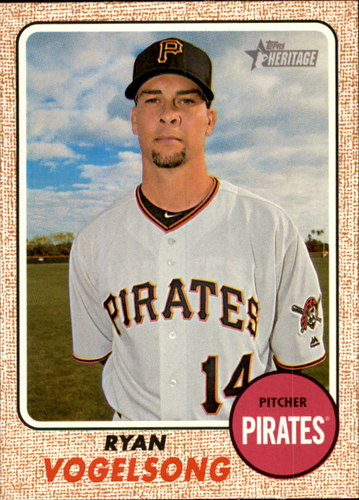 Photo of 2017 Topps Heritage #236 Ryan Vogelsong