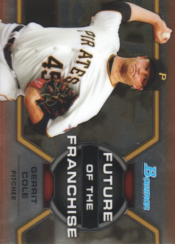 Photo of 2013 Bowman Draft Future of the Franchise #GC Gerrit Cole