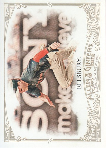 Photo of 2012 Topps Allen and Ginter #136 Jacoby Ellsbury