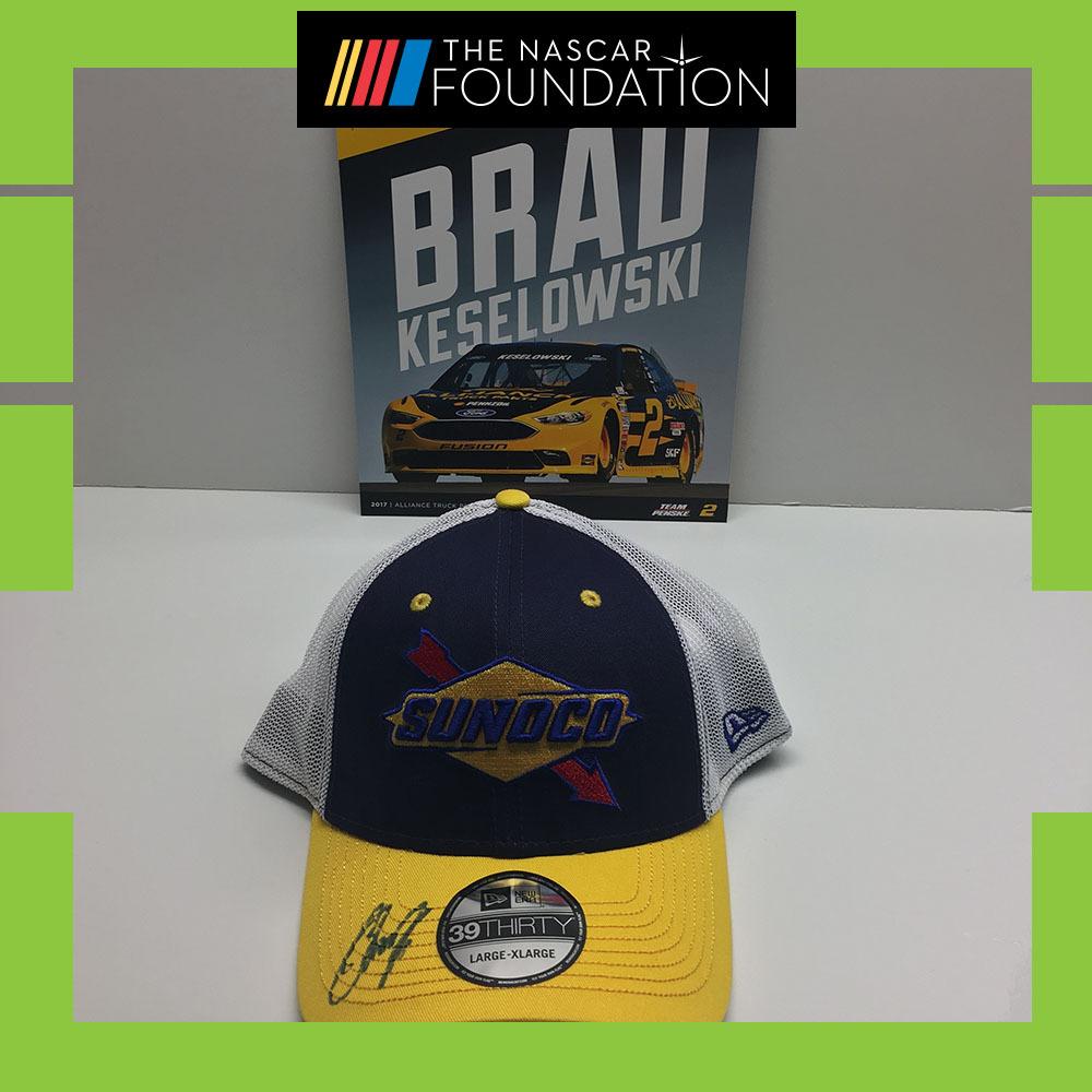 NASCAR's Brad Keselowski Autographed Hat!