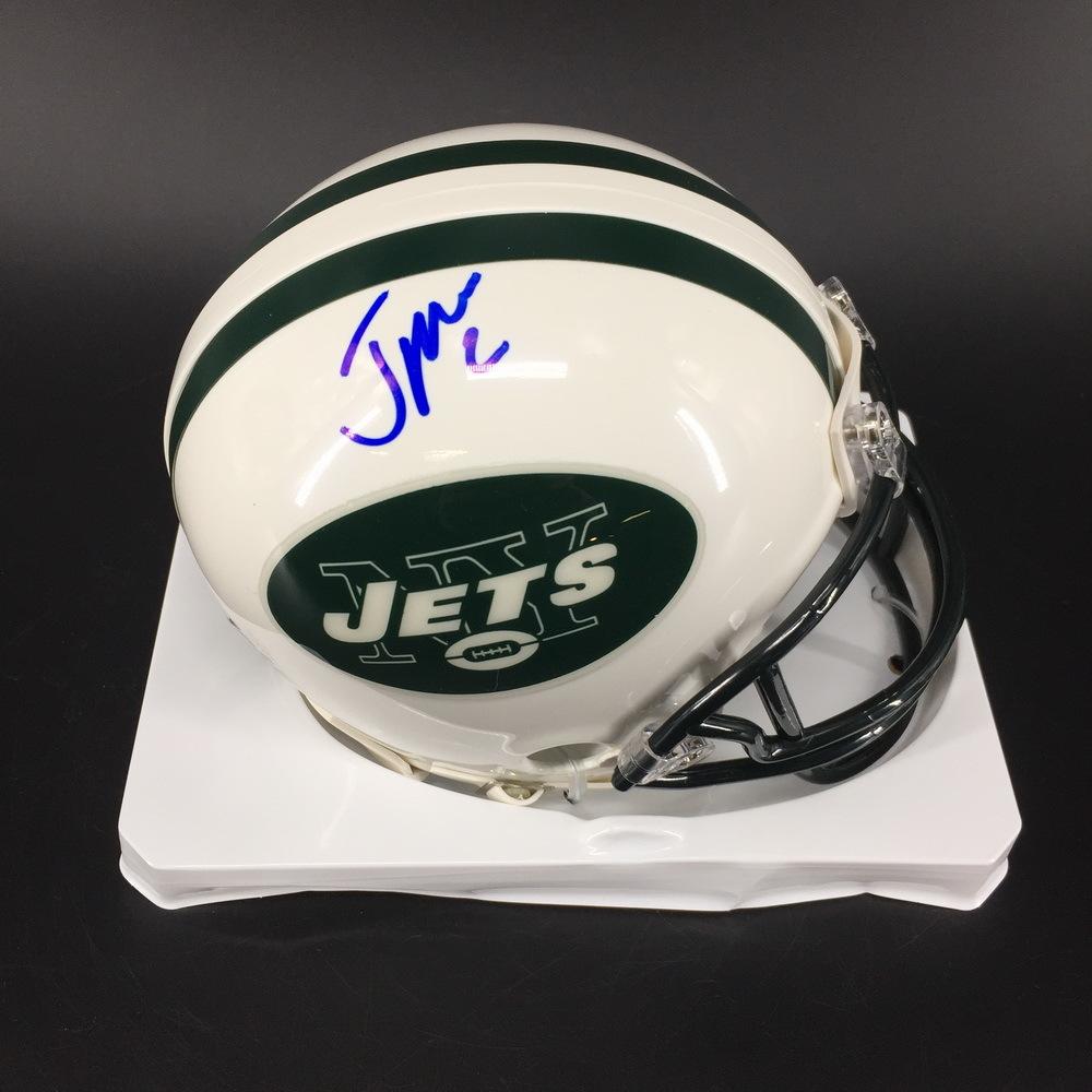 NFL - Jets Jason Myers Signed Mini Helmet