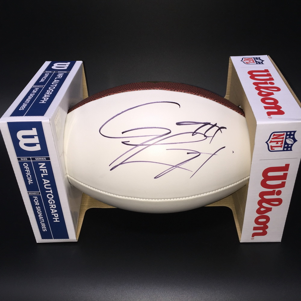Chargers - Corey Liuget Signed Panel Ball