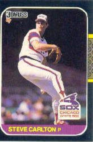 Photo of 1987 Donruss #617 Steve Carlton