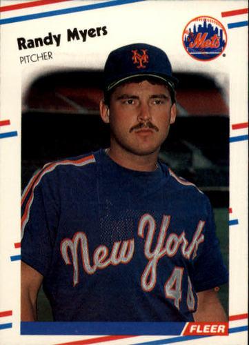 Photo of 1988 Fleer #146 Randy Myers