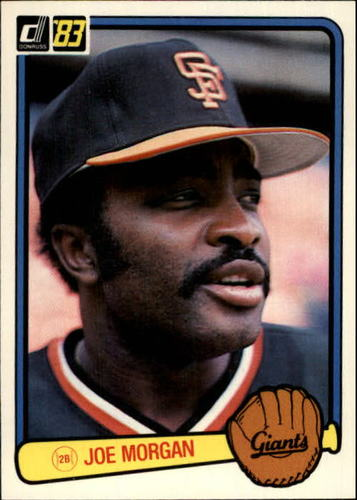 Photo of 1983 Donruss #438 Joe Morgan