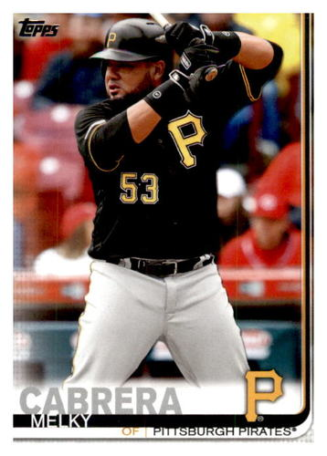 Photo of 2019 Topps Update #US21 Melky Cabrera