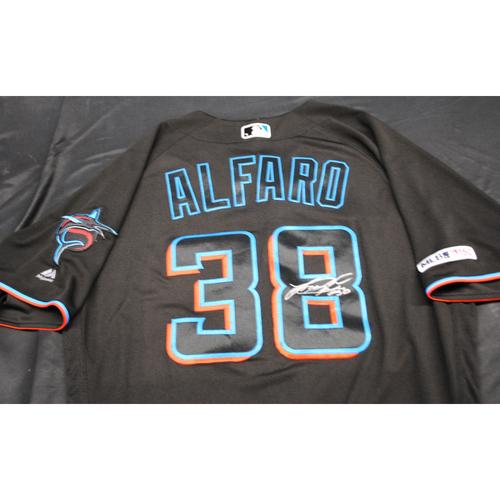 Photo of Autographed Black Jersey: Jorge Alfaro #38