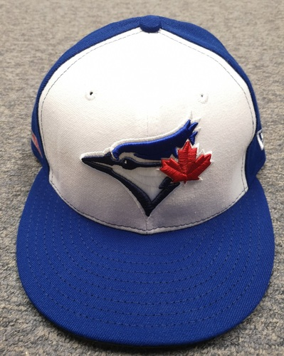 Photo of Authenticated Team Issued 2019 Opening Day Cap - #57 Trent Thornton. Size 7.