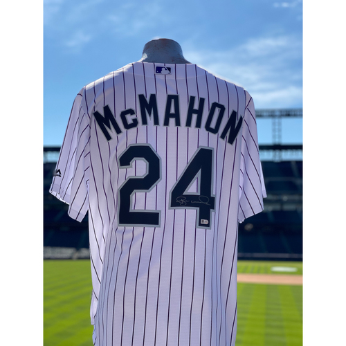 Photo of Colorado Rockies Autographed Home Jersey: Ryan McMahon - Choose your Size!