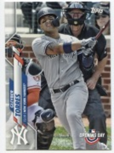 Photo of 2020 Topps Opening Day #186 Gleyber Torres