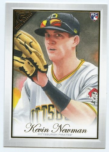 Photo of 2019 Topps Gallery #55 Kevin Newman RC