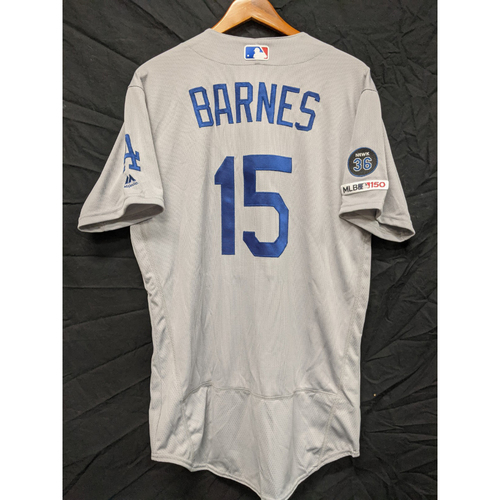 Photo of Austin Barnes Team-Issued 2019 Road Jersey