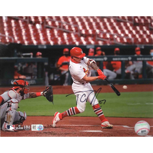 Photo of Cardinals Authentics: Tyler O'Neill Autographed Photo