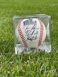 Photo of 2017 Eastern League All-Stars Signed Baseball (Eastern Division)