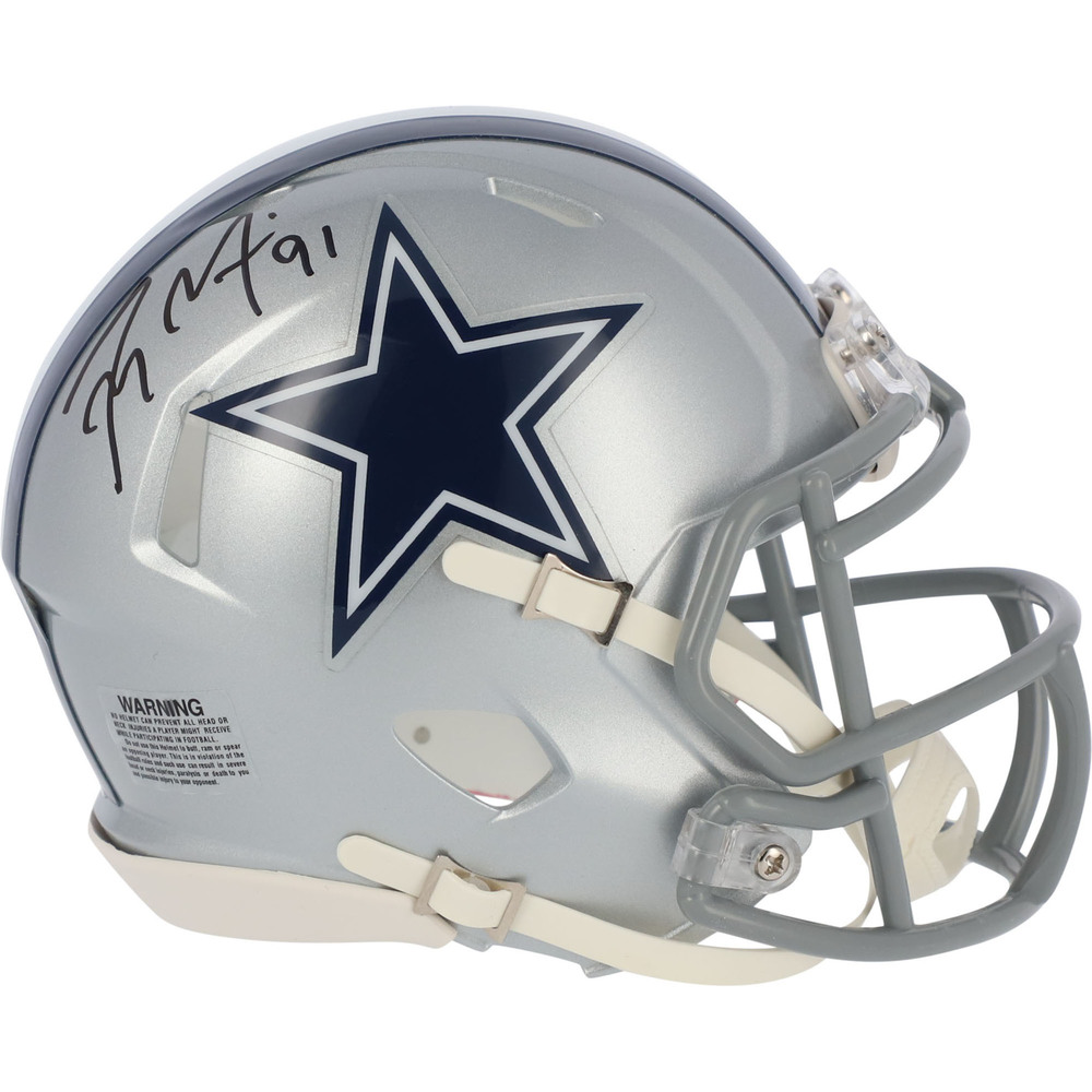 Tyler Seguin Dallas Stars Autographed Dallas Cowboys Riddell Speed Mini Helmet - NHL Auctions Exclusive