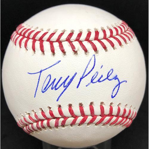 Photo of Tony Perez -  Autographed Official Major League Baseball