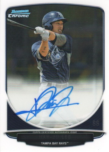 Photo of 2013 Bowman Chrome Prospect Autographs #HL Hak-Ju Lee
