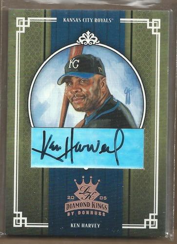 Photo of 2005 Diamond Kings Signature Bronze #351 Ken Harvey/100
