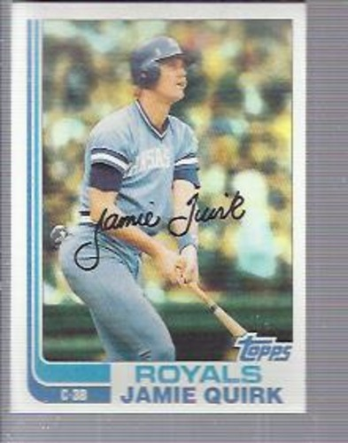 Photo of 1982 Topps #173 Jamie Quirk