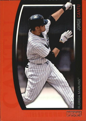 Photo of 2009 Topps Unique Red #124 Jorge Cantu