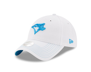 Toronto Blue Jays Youth Pop Preferred Pick White/Lt Blue Adjustable Cap by New Era