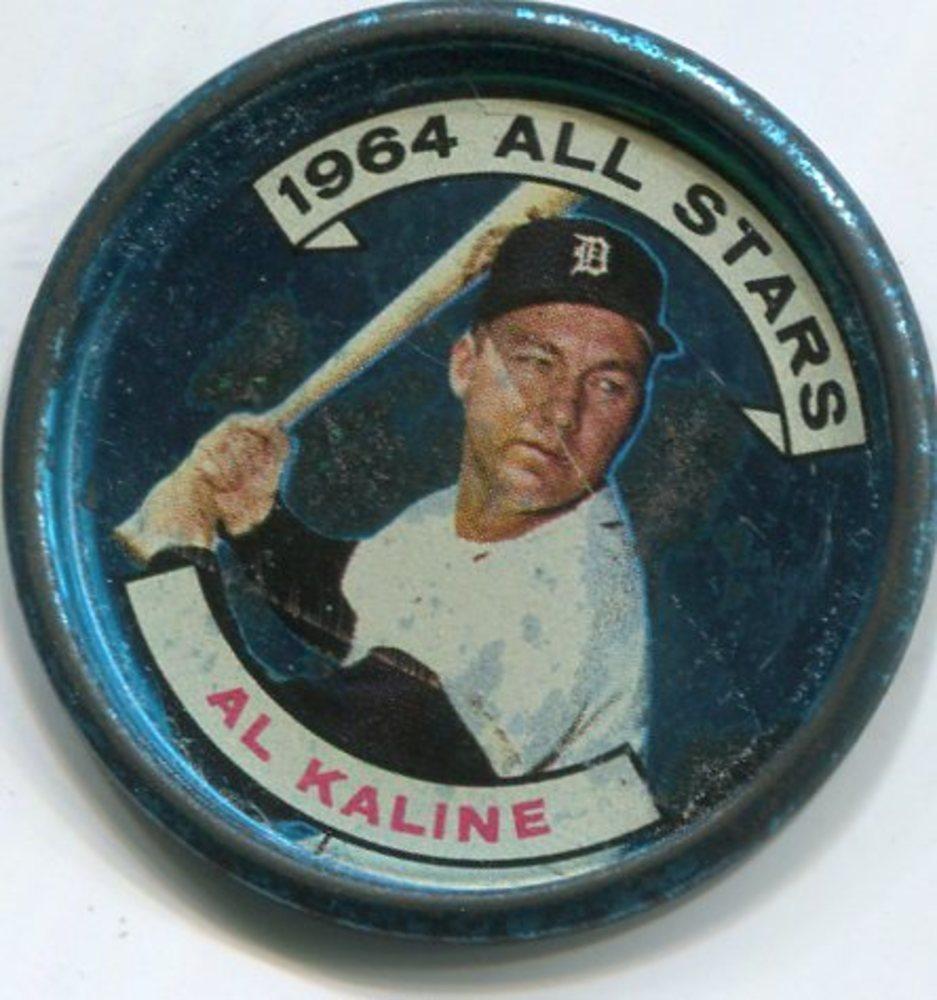 1964 Topps Coins #129 Al Kaline AS
