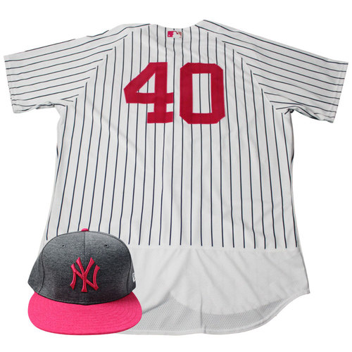 brand new 7303d 58d97 MLB Auctions | Luis Severino New York Yankees Game-Used #40 ...