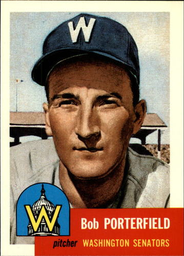 Photo of 1991 Topps Archives 1953 #108 Bob Porterfield