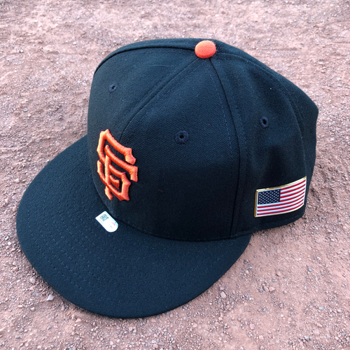 Photo of San Francisco Giants - 2017 Game-Used 9/11 Cap Worn by #29 Jeff Samardzija - Size 7 3/8