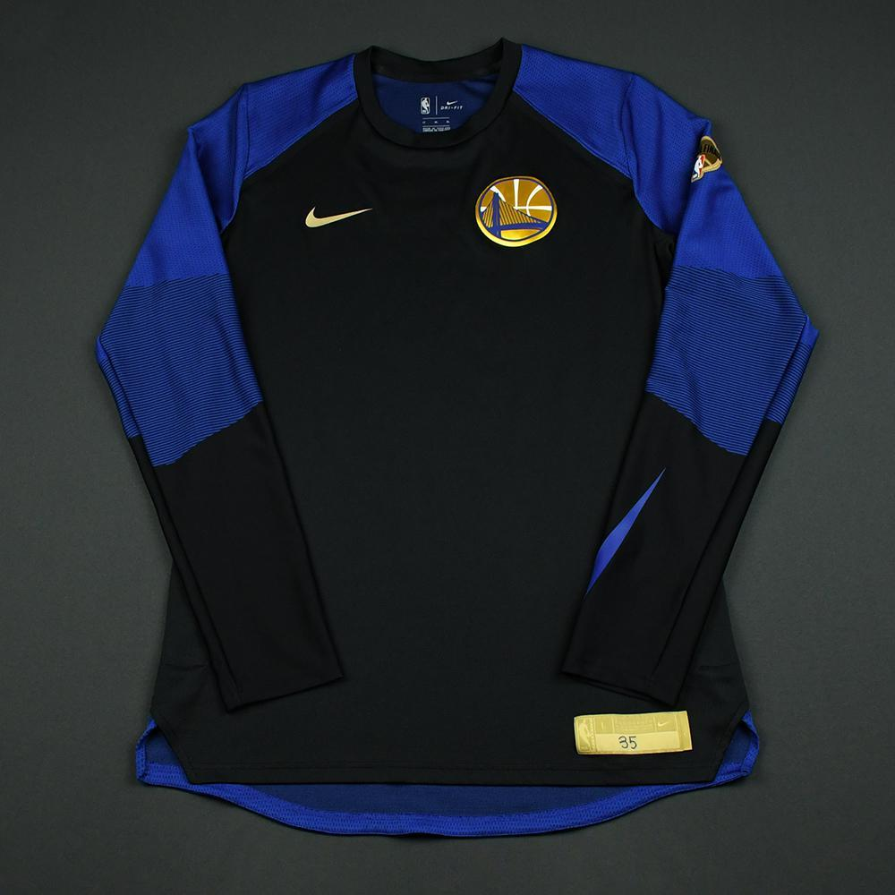 Kevin Durant - Golden State Warriors - 2018 NBA Finals - Game-Issued Shooting Shirt