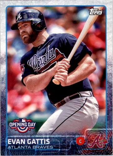 Photo of 2015 Topps Opening Day #21 Evan Gattis