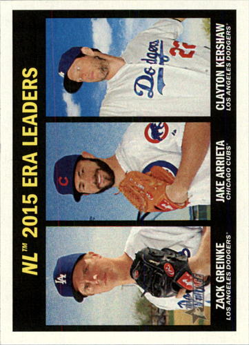 Photo of 2016 Topps Heritage #234 Clayton Kershaw/Zack Greinke/Jake Arrieta