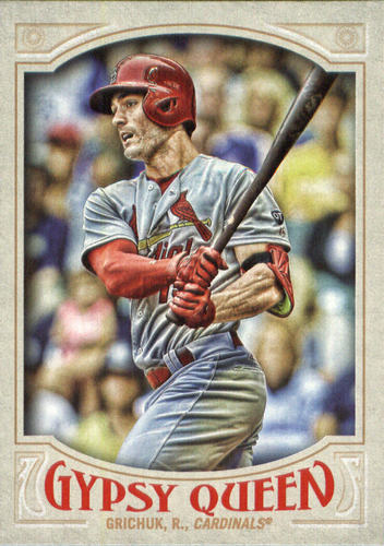 Photo of 2016 Topps Gypsy Queen #39 Randal Grichuk
