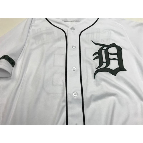 Photo of Team-Issued Camo Jersey: Bat Boy (Blank on Back)