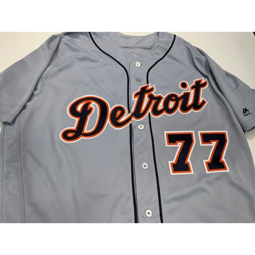 Photo of Game-Used Road Jersey: Joe Jimenez