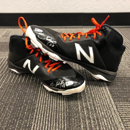 Photo of 2017 Autographed Cleats - #48 Pablo Sandoval - Size 11 1/2